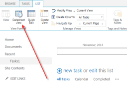 datasheet view for SharePoint Online