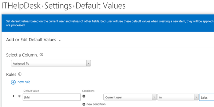 default-values KWizCom SharePoint app