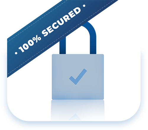 100% secured forms image