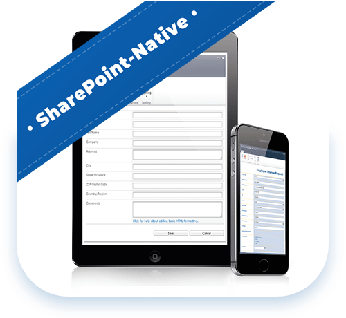 SharePoint Native forms
