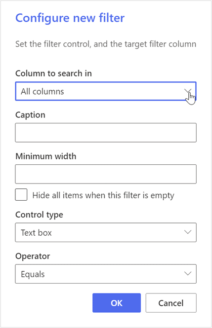 create custom shared filters in SharePoint Online