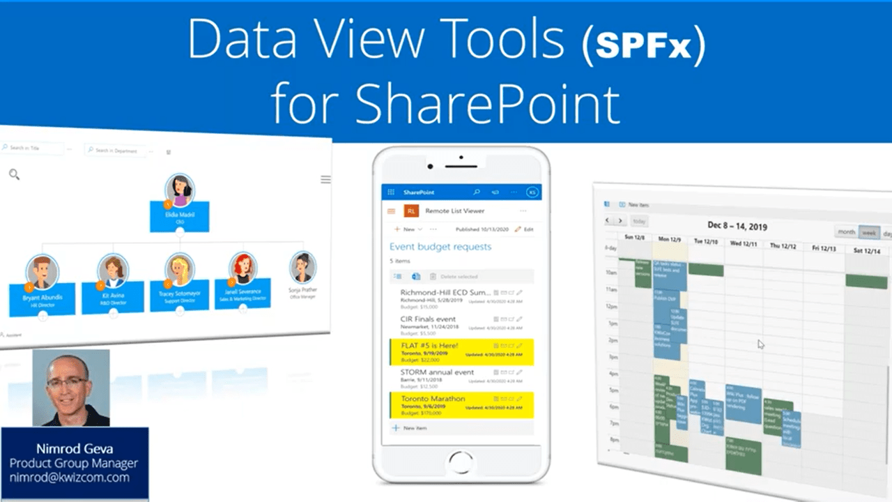 Data aggregation and display in SharePoint Online and Teams