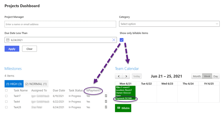 Custom Filter & Web Part Connections Available for M365 & Teams